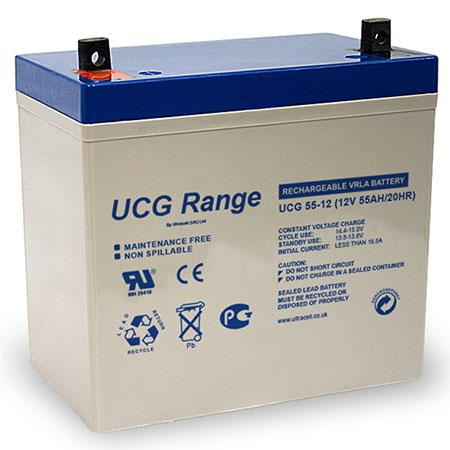 ΜΠΑΤΑΡΙΕΣ ULTRACELL UCG GEL12-275 AH