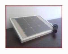 μικρό φωτοβολταϊκό πάνελ