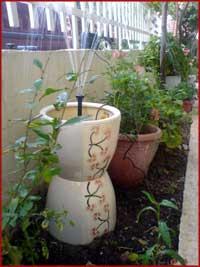 ηλιακο συντριβανι κηπου η εσωτερικου χωρου με φωτοβολταικα