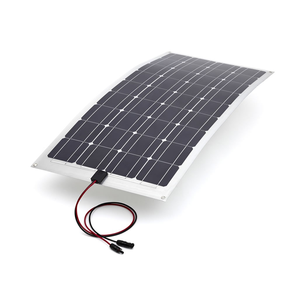 Semi-Flexible Solar Panel