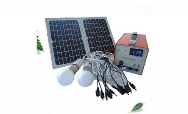 Ο ευκολότερος τρόπος για φωτισμο χωρου με φωτοβολταικα & LED